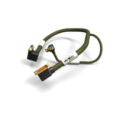 AR15S07-24C4-0.5 SPL |  Micro-D Cable Assembly SPL